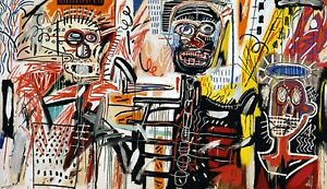 jean-michel-basquiat-philistines-WALL-ART-on-gallery-frames-canvas-25-034-x35-034