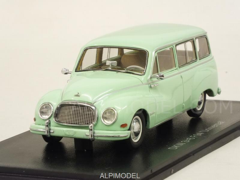 DKW 3=6 F94 Kombi Universal 1955 Light verde 1 43 NEO 45091