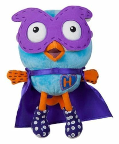 ABC Giggle and Hoot Owl Superhoot Beanie Soft Plush Stuffed 25 cm Toy