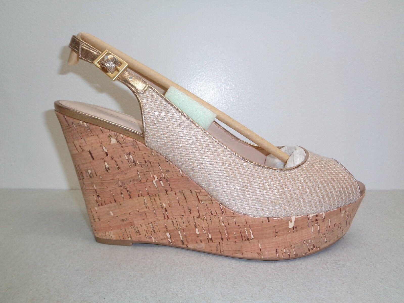 Pelle Moda Talla 10 M M M Colby natural brillante Nuevos Mujer Zapatos Sandalias de cuña de yute  artículos de promoción