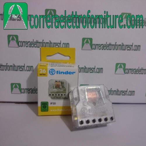 Rele elettromeccanico FINDER 26018024 26.01.8.024 24V AC