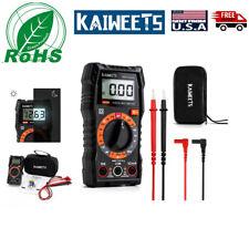 Kaiweets Digital Multimeter Km100 Multimeters Test Meters Auto Amp Test Leads
