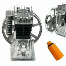 3hp Piston Cylinder Oil Lubricated Air Compressor Pump Head 250lminnozzle
