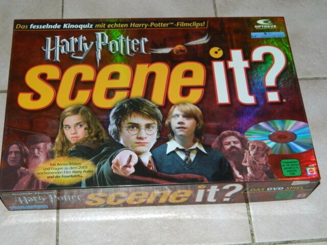 Harry Potter - Scene it? - 1. Edition - Das DVD Spiel - komplett - KULTIG