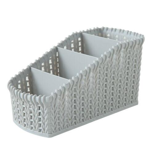 Desk Plastic Storage Basket Bin Clothes Container Organizer kitchen Tool Basket