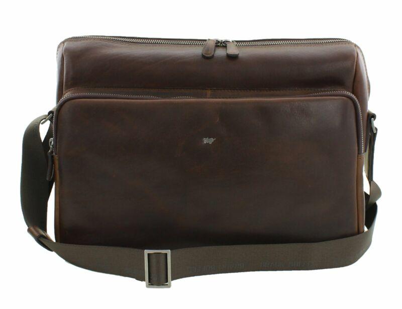 Braun Büffel Parma Messenger Bag Brown