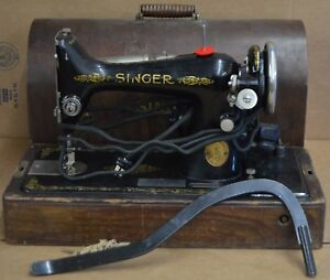 1921-Singer-49K-Sewing-Machine-SERIAL-Number-Y1608877