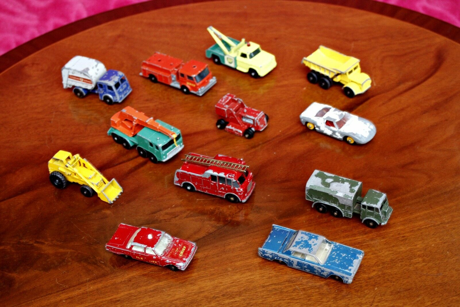 Vintage Lesney Matchbox Toy Cars No 6; 9; 13; 15; 24; 29; 30; 31; 41; 58; 59; 62