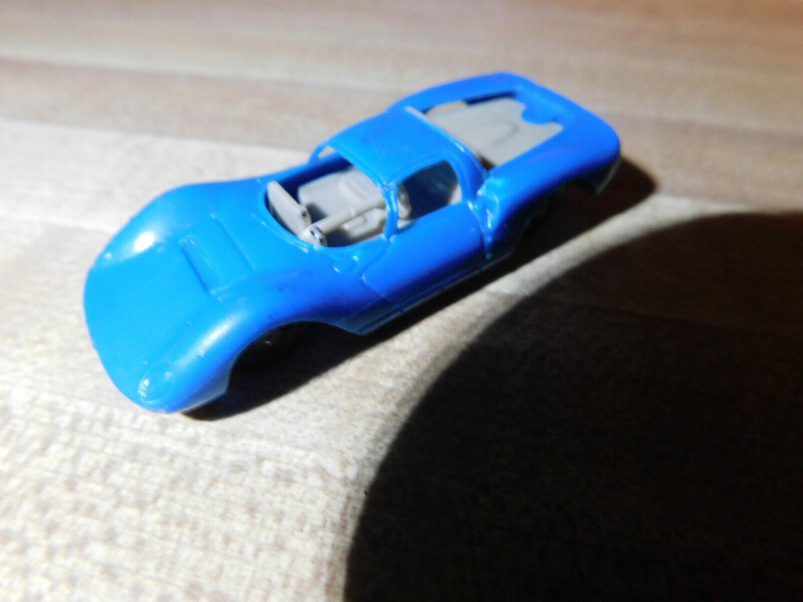 Vintage Aurora Speed Speed Speed Line Diecast bluee Dino Ferrari Toy Car 1 87 Cigar box aea21d