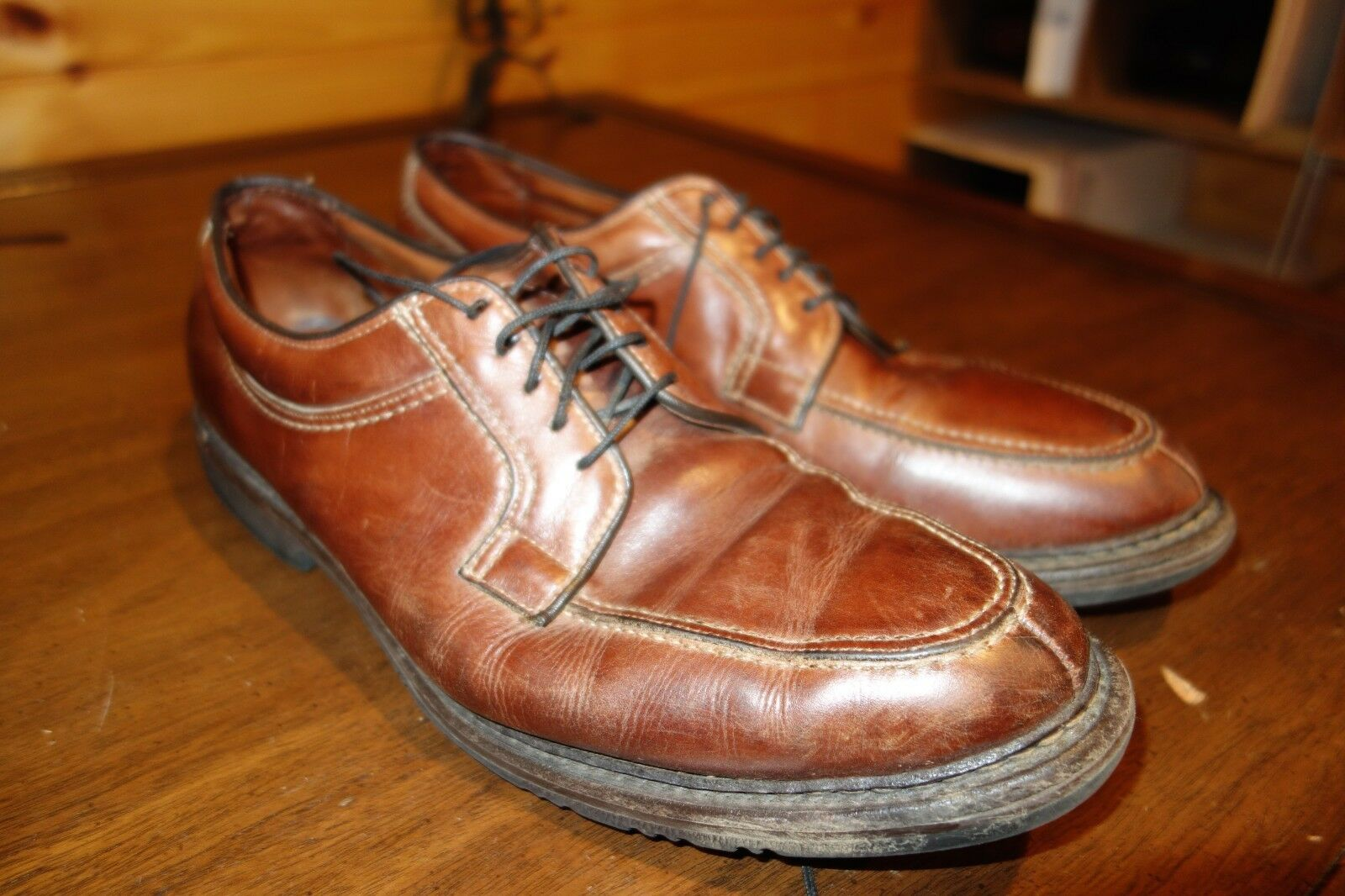 Allen Edmonds Wilbert Classic braun Oxford Dress schuhe Größe 11.5 D USA