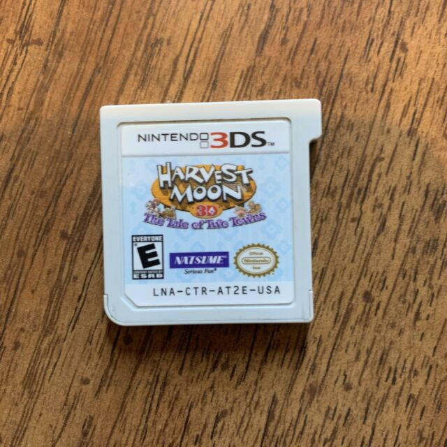 Harvest Moon 3D The Tale Of Two Towns Nintendo DS DSi 3DS