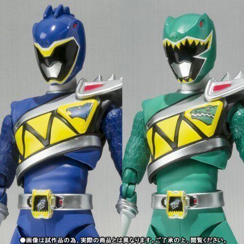 Ahorre 60% de descuento y envío rápido a todo el mundo. S.H. Figuarts Zyuden Sentai Kyoryuger Kyoryu Kyoryu Kyoryu azul & verde Figura de Acción Rangers  bienvenido a orden