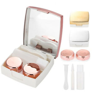 Travel-Portable-Plastic-Contact-Lens-Case-Lenses-Storage-Eye-lashes-Container