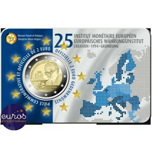 Coincard-2-euros-BELGIQUE-2019-Institut-Monetaire-Europeen-Version-Francaise