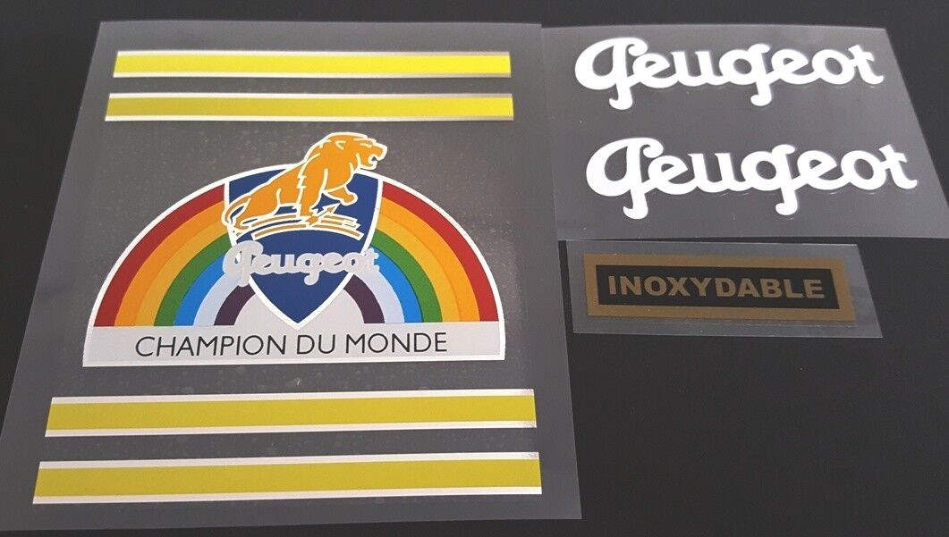 Peugeot 1950s Bicycle Decal Set (Peug-S102)
