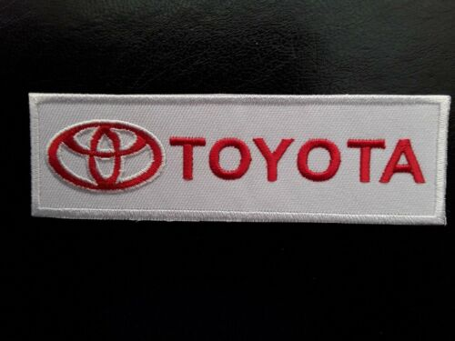 TOYOTA JAPANESE VEHICLE MOTORSPORT RACING RALLY CAR EMBROIDERED PATCH UK SELLER