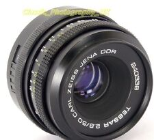 Carl Zeiss TESSAR 2.8/50mm SHARP Prime Lens 50mm F2.8 Pentax M42 Film & DIGITAL