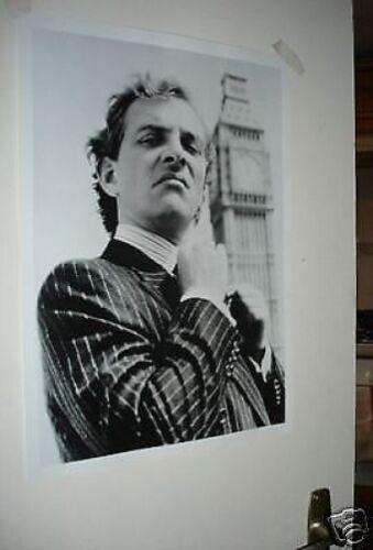 Rick Mayall New Statesman Door Poster B//W #1