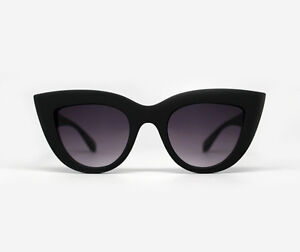 18e57c5194cd9 Image is loading NEW-QUAY-Kitti-Black-Smoke-Sunglasses