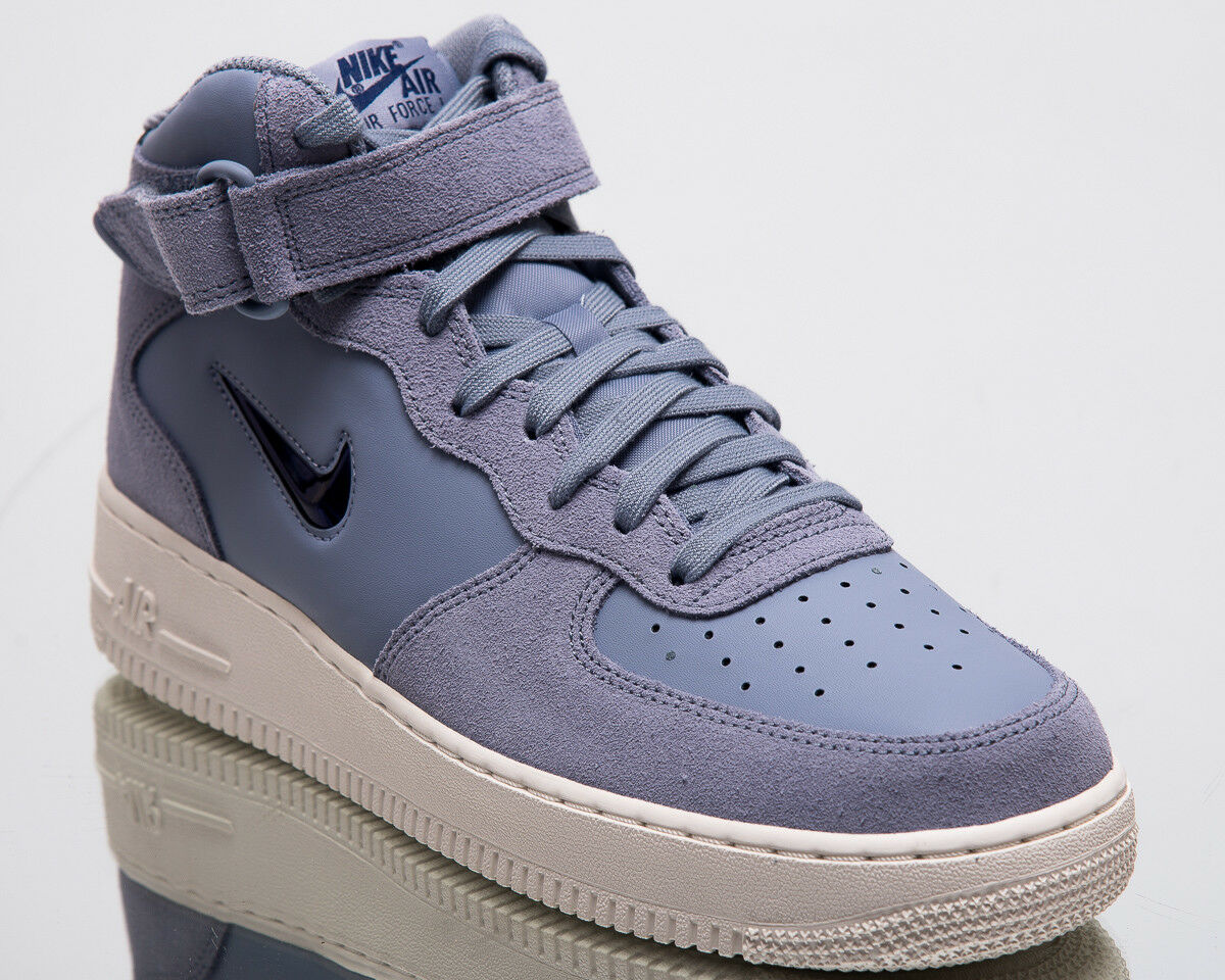 Nike New Air Force 1 Mid '07 LV8 Jewel Men New Nike Blue Lifestyle Sneakers 804609-402 6e54c3