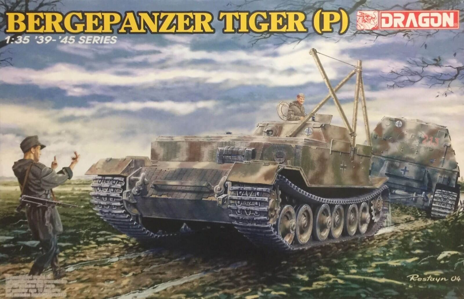 Dragon Bergepanzer Tiger (P) Ref 6226 Escala 1 35