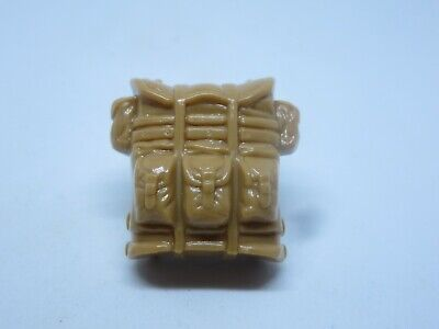 GI Joe 1987 Outback v1 tan brown BACKPACK gear weapon accessory part vintage