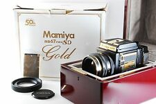 MAMIYA RB67 Pro SD 50th years GOLD Camera [MINT Exhibit] k894