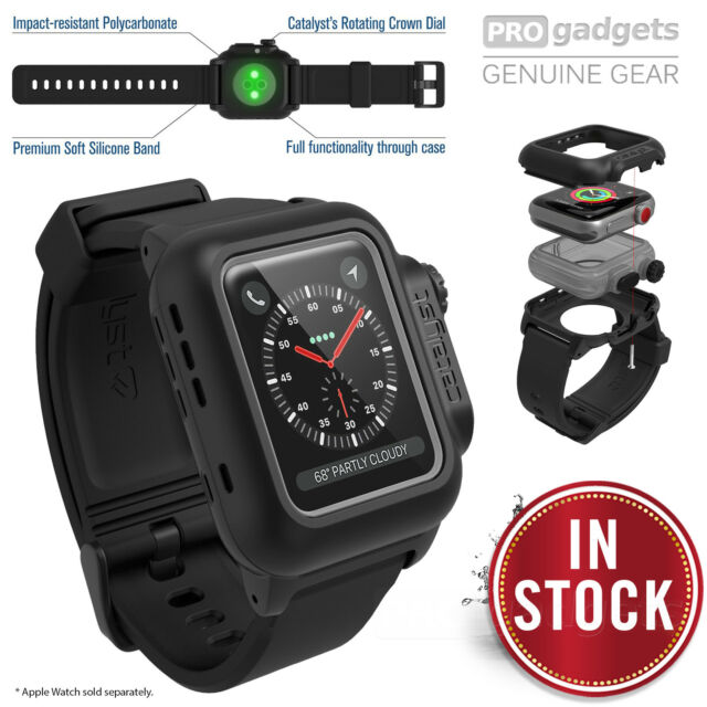 pretty nice e66b4 1c45b Catalyst Waterproof Case for 38mm Apple Watch Series 3/2 - Stealth Black