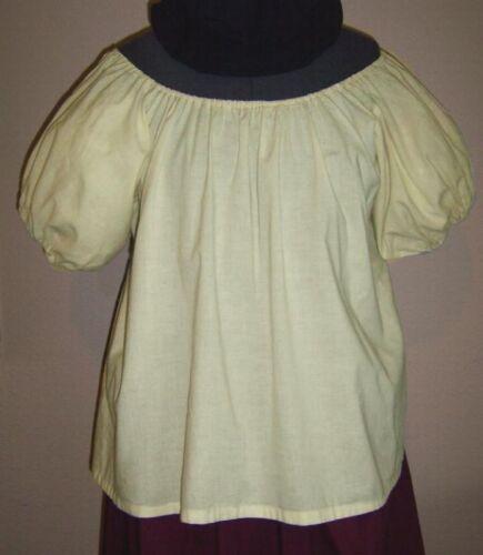 RENAISSANCE CHEMISE DRESS-UP COSTUME PEASANT BLOUSE CIVIL WAR PIRATE SHIRT TOP