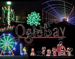 image is loading west virginia wheeling oglebay festival of lights flexible - Oglebay Christmas Lights