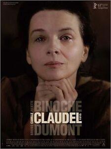 Affiche-120x160cm-CAMILLE-CLAUDEL-1915-2013-Dumont-Juliette-Binoche-NEUVE