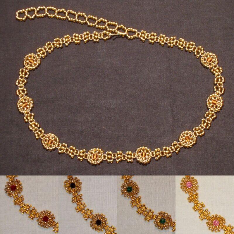 Gch1 Bridal/prom Choker Featuring Swarovski Crystals (gold/various)