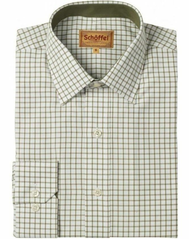 Schoffel Cambridge Shirt - Olive