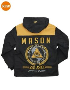 About Fraternity Jacket Freemason 2b1ask1 Details Windbreaker Masonic XOwk8n0P