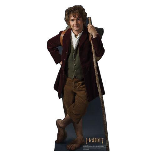BILBO BAGGINS Hobbit Martin Freeman Lifesize CARDBOARD CUTOUT Standup Standee
