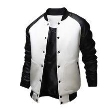 Vogue Men Varsity Letterman College Jacket - XS, S, M, L - Baseball Jacket Coats
