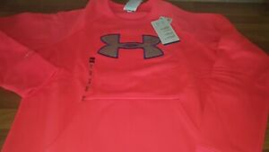 Under-Armour-ladies-stormwear-sweatshirt-pink-size-M-fit-uk-8-10-new-tagged