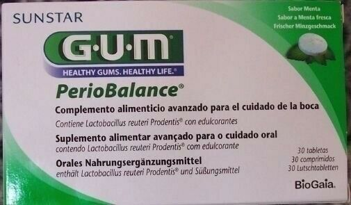 Gum Periobalance Lozenges 30 Pc PZN 10032691