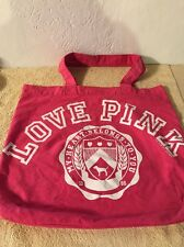 "Victoria's Secret ""PINK"" Made with Love Pink Bag/Tote"
