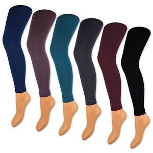 Mujer-Termo-LEGGINGS-CON-FORRO-INTERIOR-Extra-Calido-amp-suave-polar