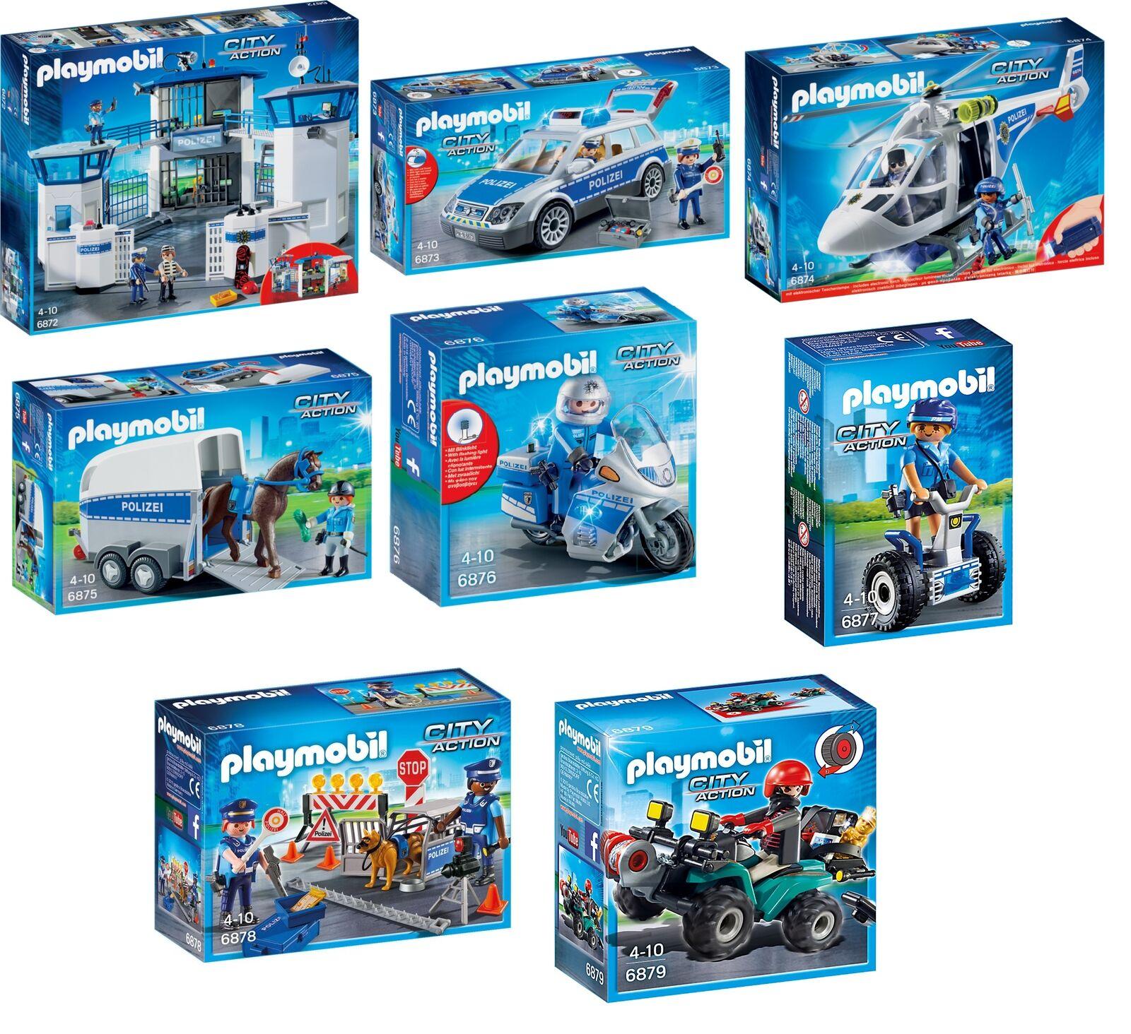 Playmobil Polizei Set 6872 6873 6874 6875 6876 6877 6878 6879