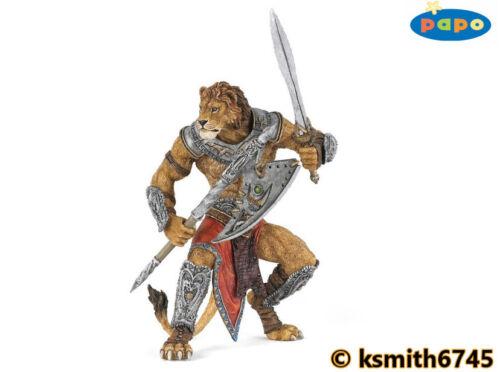 Papo LION MUTANT solid plastic toy animal myth fantasy soldier bad guy NEW