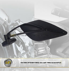 FOR-DERBI-GPR-125-4T-4V-2010-10-PAIR-REAR-VIEW-MIRRORS-SPORT-LINE