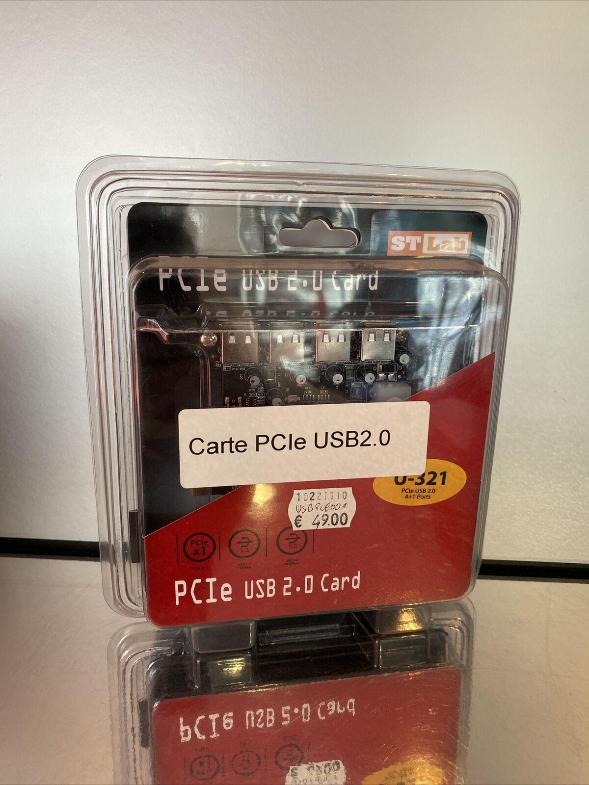 Pcie usb2 card