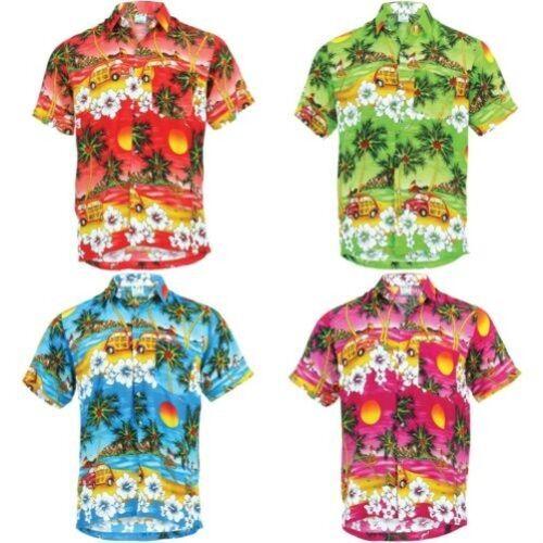 Aloha Chemise enne manches hawa Camper les Mare Party hommes ᄄᄂ Celibato pour Van courtes 3TFKcu5l1J