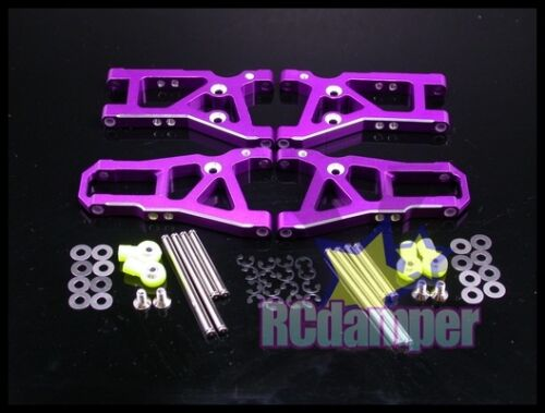 GPM ALUMINUM FRONT /& REAR LOWER ARM P HPI NITRO RS4 3 III ALLOY SUSPENSION