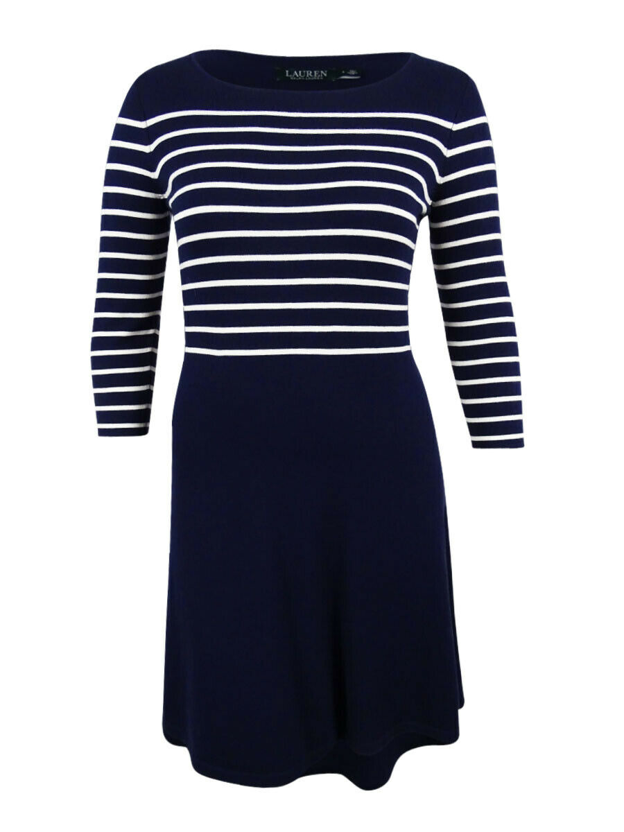 Lauren By Ralph Lauren Women's Striped Dress