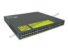 Cisco WS-C4948-S 4948 w/ AC Power 10/100/1000 Switch - 1 Year Warranty
