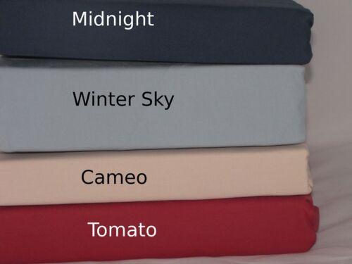 Tomato Red Duvet Comforter Cover Cotton King Queen KG