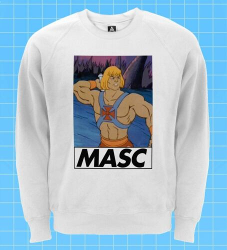Masc homme sweat-shirt il squelettor gay pride pull lgbt dom fond rétro sweat